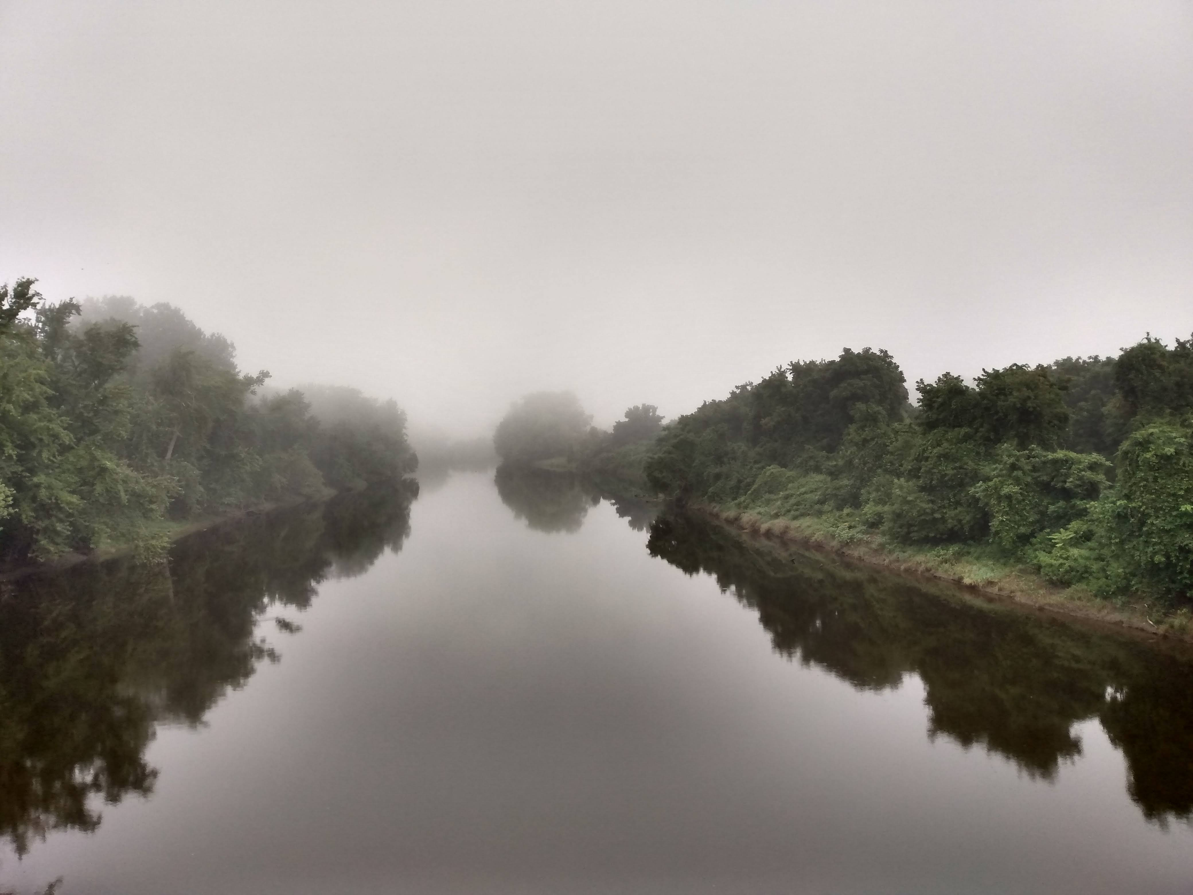Fog on the Connecticut River