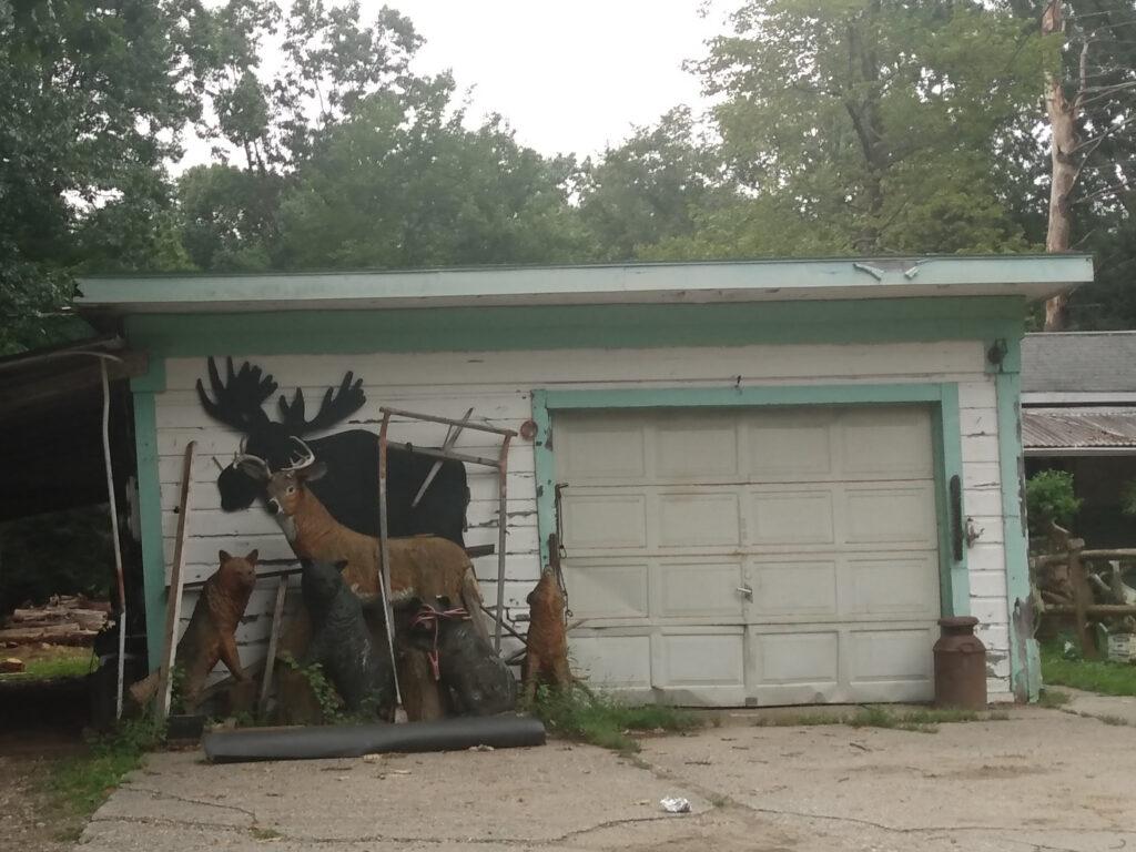moose silhouette, coyotes, bears, deer